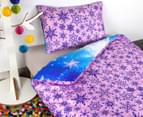 Disney Frozen Microfibre Kids Single Bed Quilt Cover Set 3