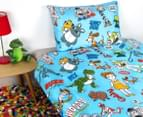 Disney Toy Story 4 Microfibre Single Bed Quilt Cover Set 2