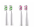 Select Mall Electric toothbrush USB charging sound wave vibration adult soft hair toothbrush - PINK WHITE 2