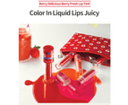 Etude House Berry Delicious Color In Liquid Lips OR207 Juicy Lip Tint 3.5g 2