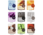 5 x Tonymoly Pureness 100 Sheet Mask #Pearl (Brightening) Face Mask 3