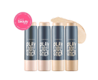 Etude House Play 101 Stick Foundation (#02 Vanilla) Cream Blemish Cover Concealer 2