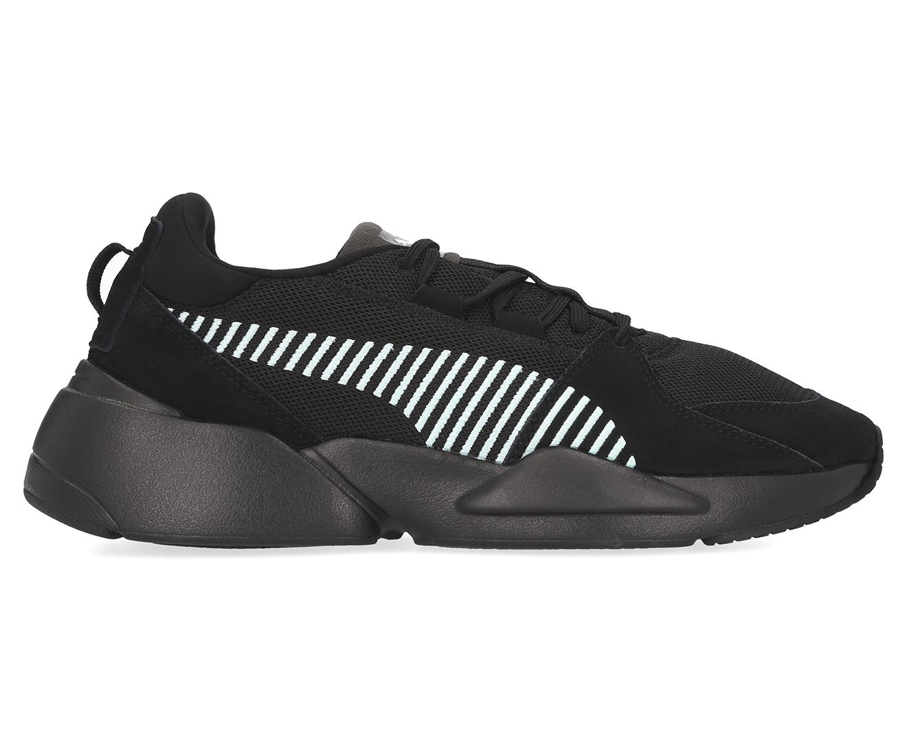 Details about Puma Men's Zeta Suede Shoe Black