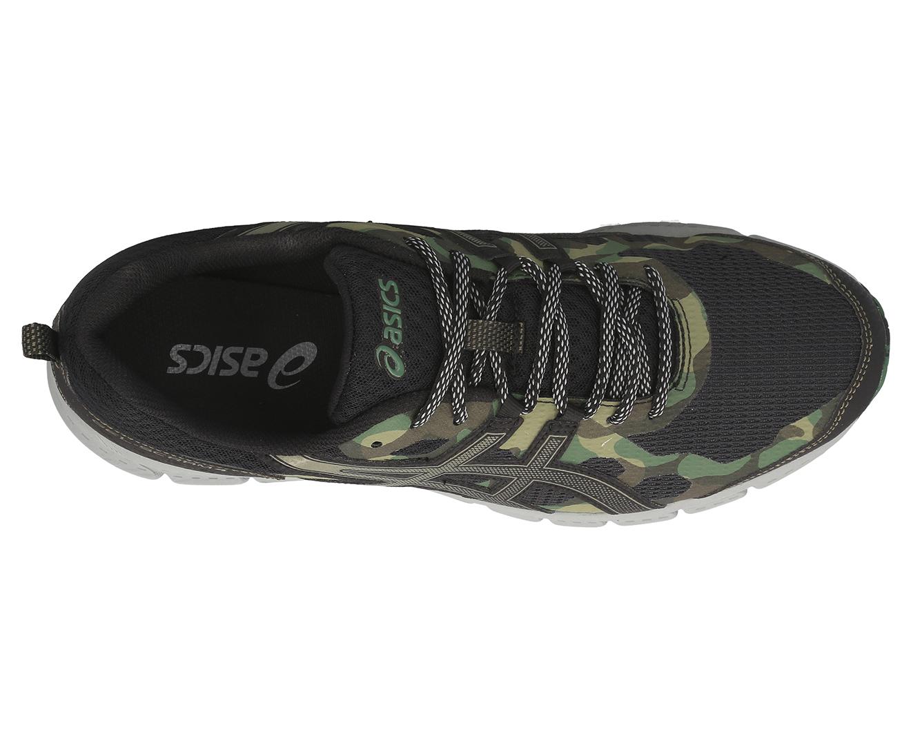 ASICS Men's GEL Scram 4 Trail Running Sports Shoes BlackIrvine