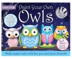 Activity Station Paint Your Own Owls Nightime Activity Set 1