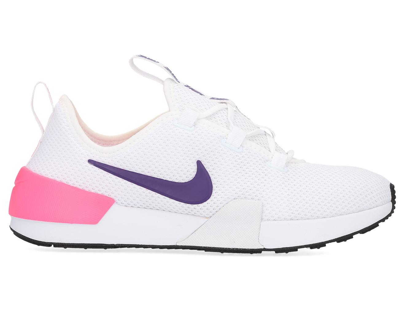 Cena fabryczna style mody ponadczasowy design Details about Nike Women's Ashin Modern Shoe - White/Court Purple/Laser Pink