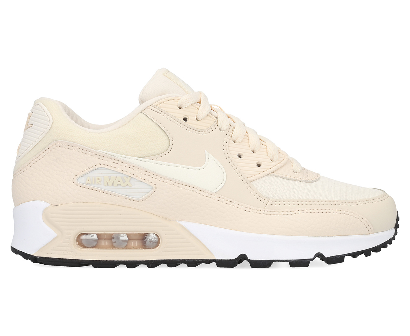 Details about Nike air max 90 Women's Sneaker Beige 325213 213 Leisure Shoes Sneakers New
