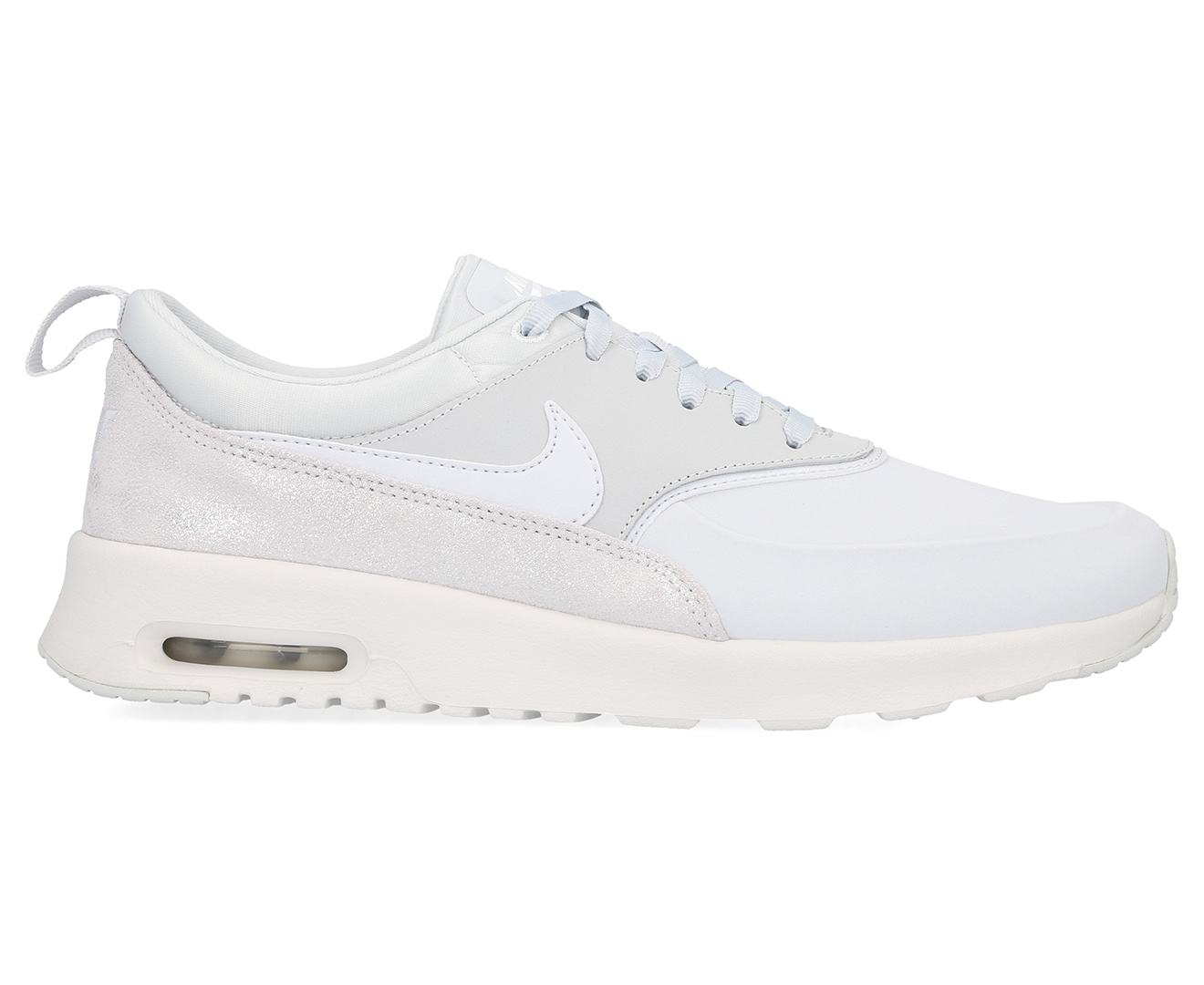 the best attitude authentic quality exquisite design Details about Nike Women's Air Max Thea Premium Shoe - Pure Platinum