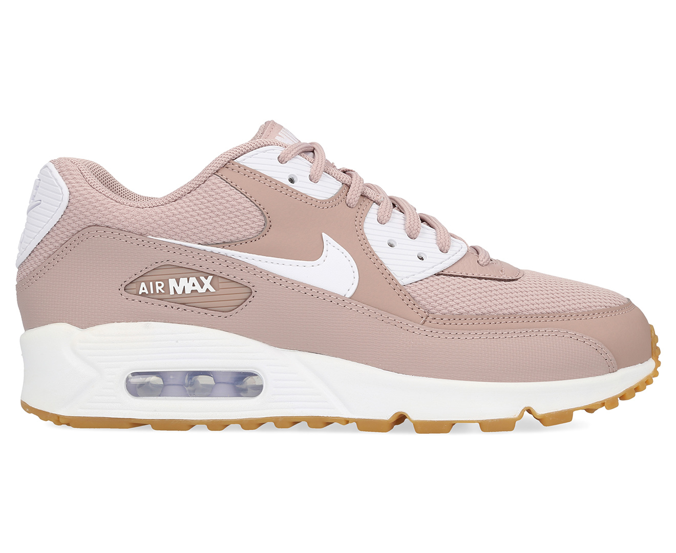 promo code f7ab8 3749a Details about Nike Women's Air Max 90 Ultra 2.0 Essential Shoe - Diffused  Taupe/White