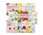 19 Pieces x Etude House 0.2 Therapy Air Mask (One of Each Type) Assorted Face Sheet Masks Brightening Moisture Soothing 1