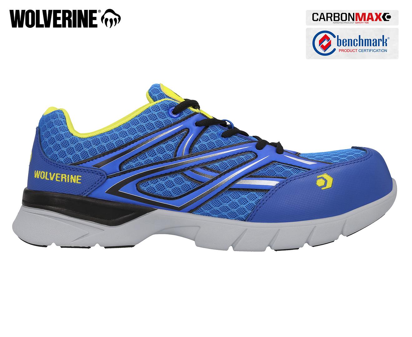 Details about Wolverine Men's Jetstream Jogger Shoe Blue