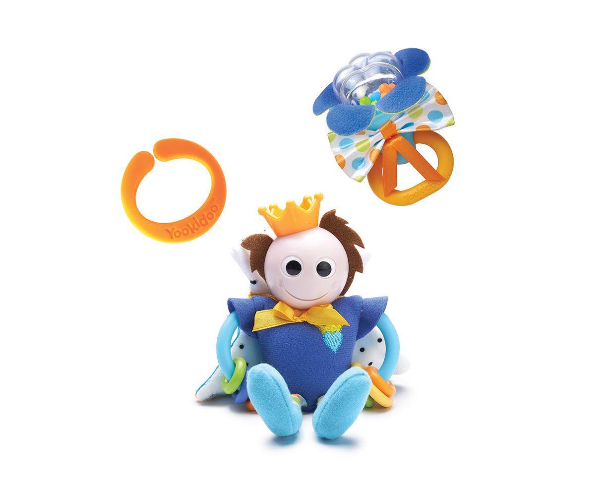 Yookidoo Baby Rattles Activity Toy Teether Prince Play Set