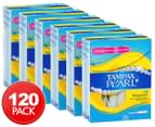 6 x Tampax Pearl Regular Tampons 20pk 1