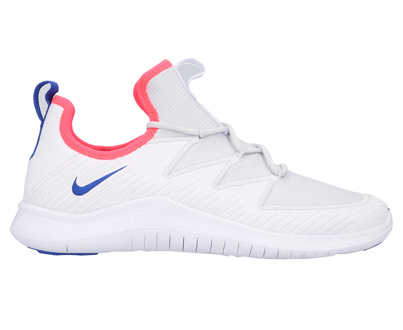 Details about Nike Women's Free TR Ultra Shoe WhiteRacer Blue Pure Platinum