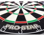 PRO STAR Dart Board Set SPORTS BAR COAT OF ARMS AUSTRALIA CABINET 3