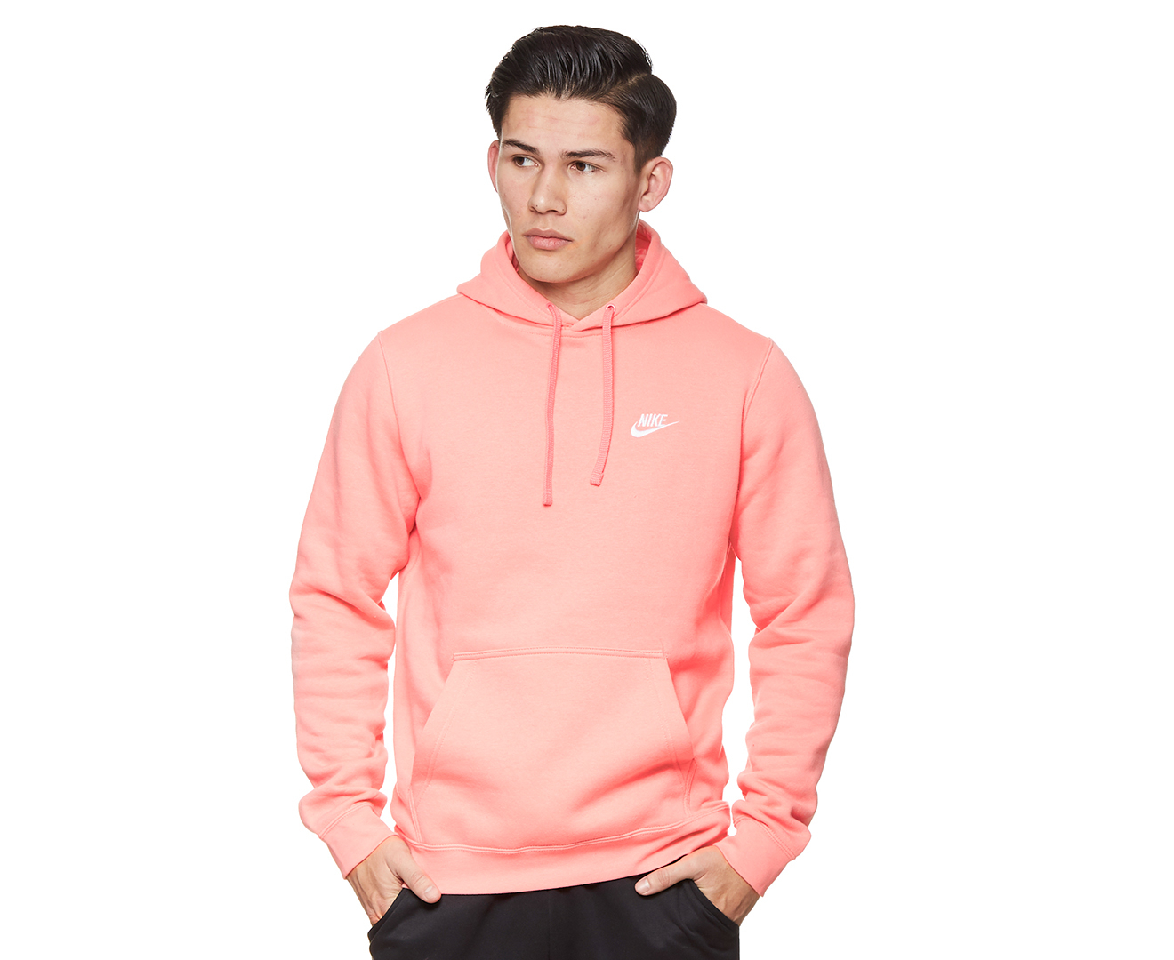 hot-selling authentic fantastic savings size 7 Details about Nike Men's Sportswear Club Hoodie - Pink