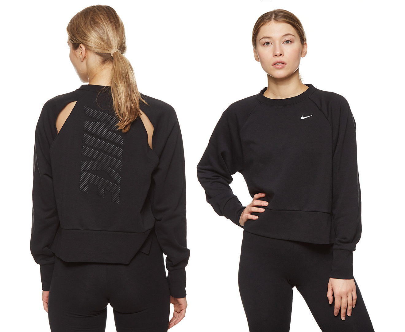 Nike Women S Dri Fit Long Sleeve Yoga Training Top Black Cudo Shopping Also set sale alerts and shop exclusive offers only on shopstyle. cudo shopping
