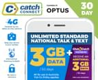Catch Connect 30 Day Mobile Plan - 3GB 1