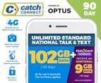 Catch Connect 90 Day Mobile Plan - 102GB 1