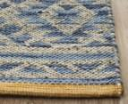 Rug Culture 400x300cm Relic 130 Rectangle Rug - Blue 3