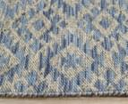 Rug Culture 225x155cm Relic 130 Rectangle Rug - Blue 4