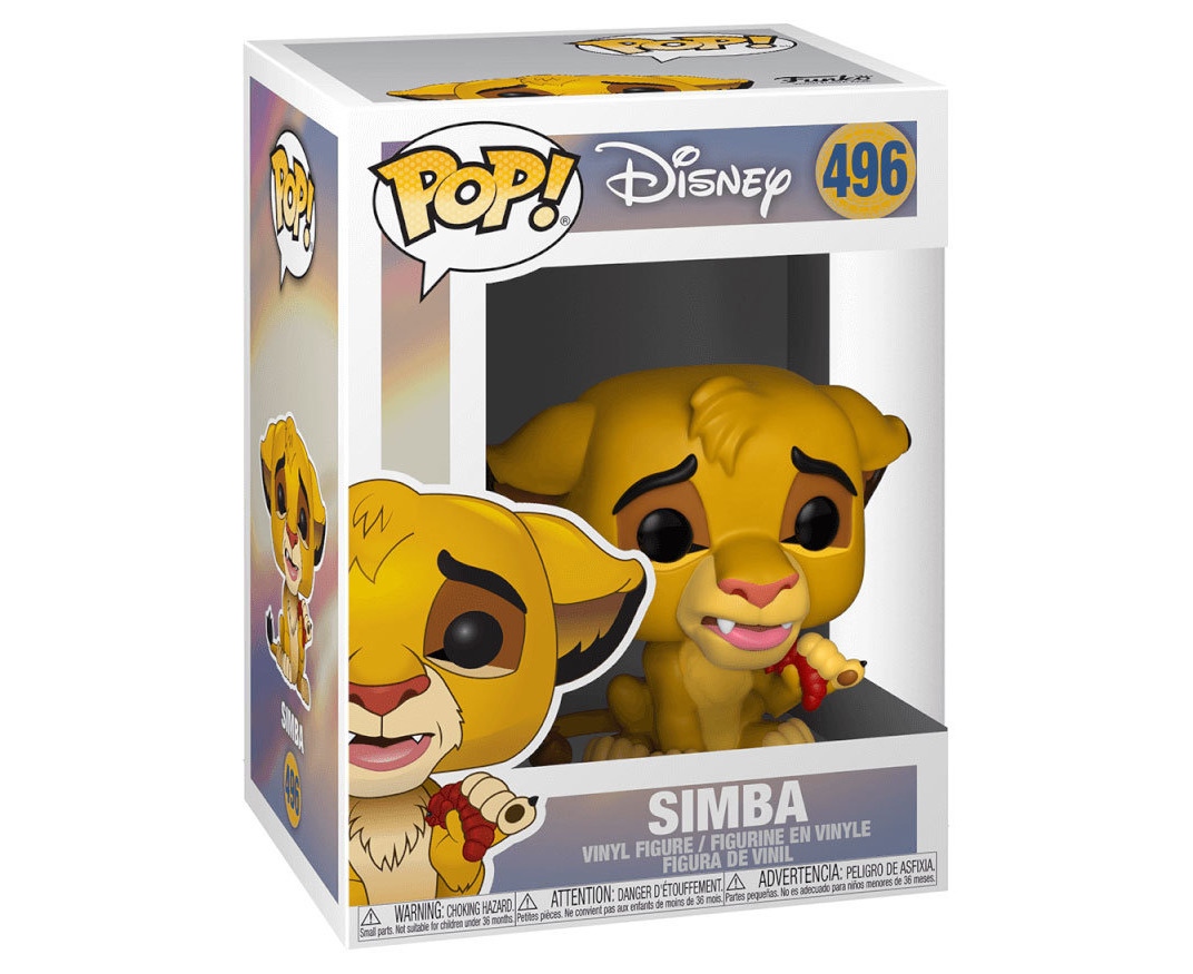 Funko POP Disney LION KING-SIMBA #496