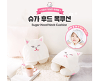 Etude House Sugar & Jam Sugar Hoody Neck Pillow - Travel Sleep Rest Support 2