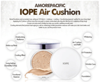 Iope Air Cushion Natural Glow Refill #21 Natural Beige Amore Pacific Foundation 5