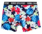 Bonds Girls' Micro Sport Short - Floral Print 2