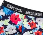 Bonds Girls' Micro Sport Short - Floral Print 3