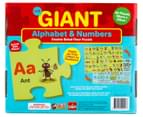 The Giant 90x60cm Alphabet & Numbers Double Sided Floor Puzzle 2