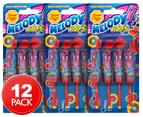 3 x 4pk Chupa Chups Strawberry Melody Pops 1