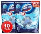 2 x 5pk Domestos Power 5 Maxi Pack Ocean Toilet Cleaner 1