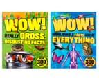 WOW! Animals, Dinosaurs & Everything Facts 4-Book Pack 2