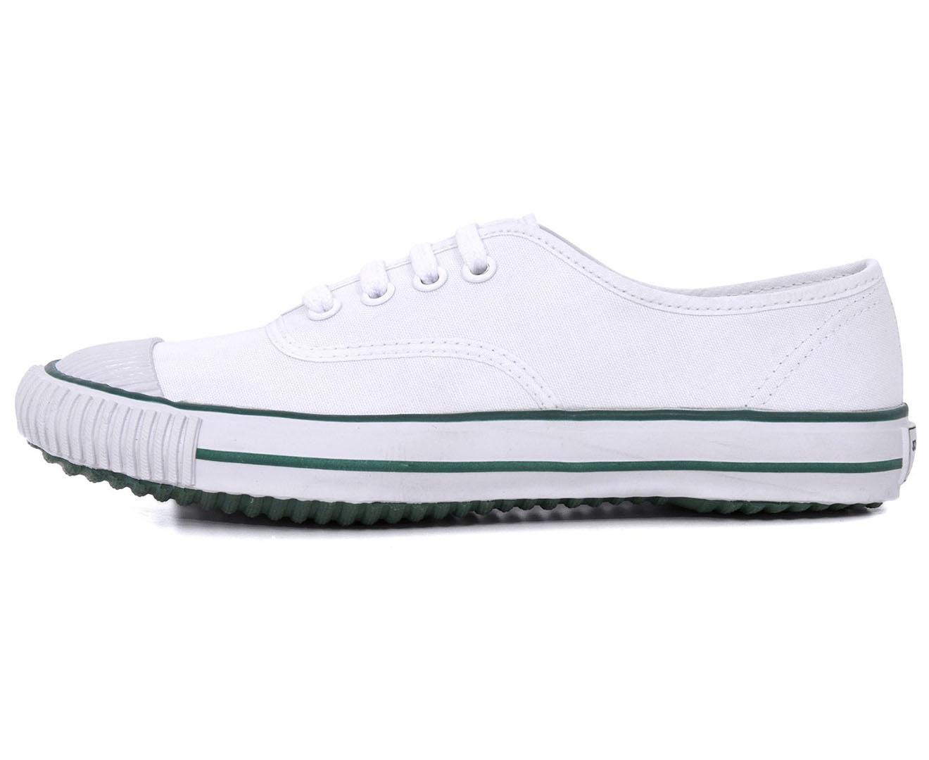 Bata Unisex Tennis Canvas Shoe - White