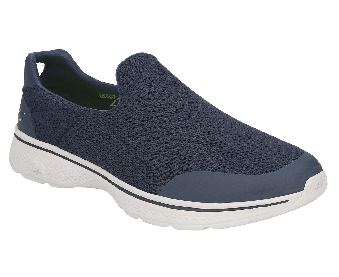 Details about Skechers Men's GOwalk 4 Incredible Slip On Shoe NavyGrey