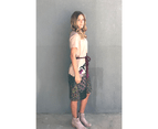 KAJA Clothing FLORA Dress in Pink Print 100% Cotton 3