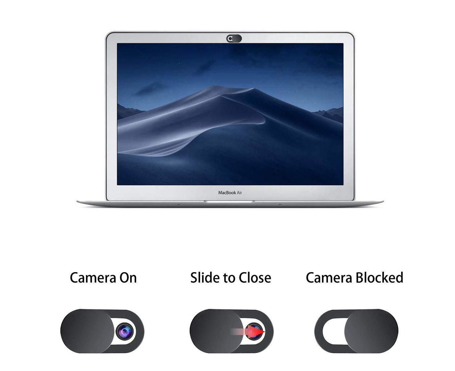 3X Ultrathin Camera Lens Cover Protect Privacy Cover for Phone PC Laptop Tablet