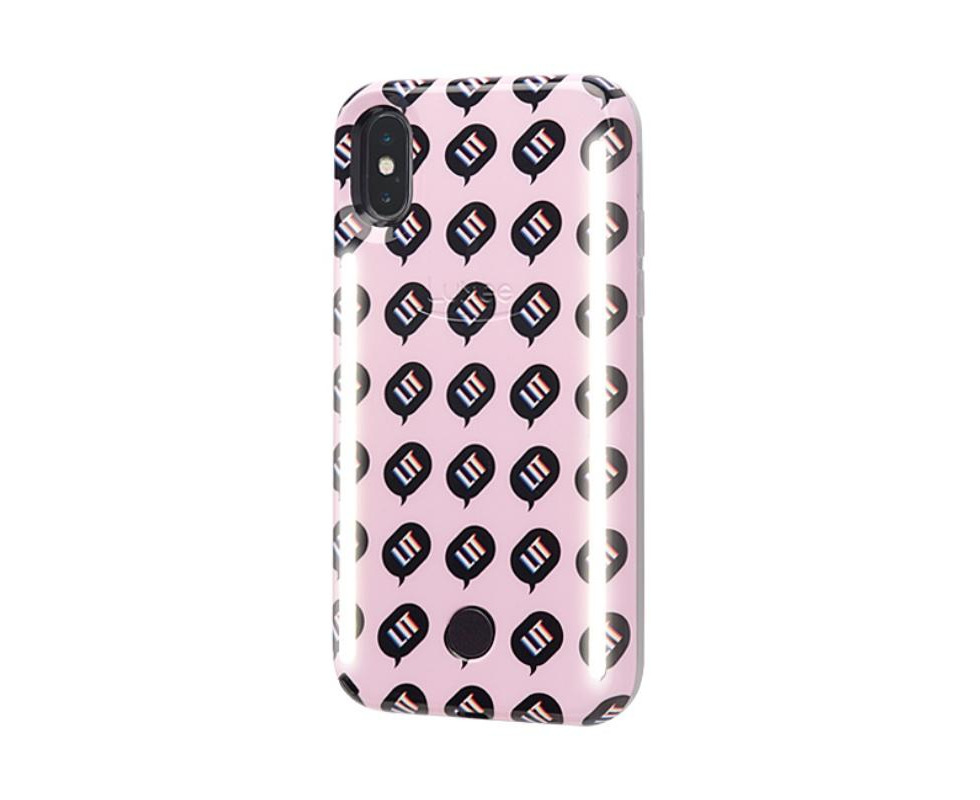 official photos c10b7 e530a LuMee DUO Kimoji Case w/ Front & Back LED Lights For iPhone XS / X - LIT