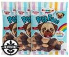 3 x Chunky Funkeez Cola Flavoured Pug Face Lollies 170g 1