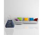Luxury Dog Bed, Classic Navy Blue 6
