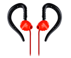 Yurbuds Focus 300 Sports Ergonomical Fit Behine-The-Ear Earphones Earbud Athlete Red 2