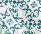 Gioia Casa Oliver Printed All Seasons Cloud-Like Double Bed Quilt - Green/White 4