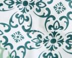 Gioia Casa Oliver Printed All Seasons Cloud-Like King Bed Quilt - Green/White 4