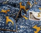 Gioia Casa Madison Printed All Seasons Cloud-Like Queen Bed Quilt - Navy 3