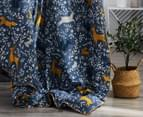 Gioia Casa Madison Printed All Seasons Cloud-Like Queen Bed Quilt - Navy 5