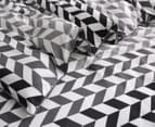 Gioia Casa Aaron Printed All Seasons Cloud-Like Queen Bed Quilt - Black/White 3