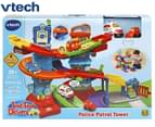 VTech Toot-Toot Drivers Police Patrol Tower Playset 1