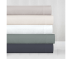 In2Linen Mega King Bamboo Cotton Fitted Sheet 50cm Wall 500TC |Pearl 1