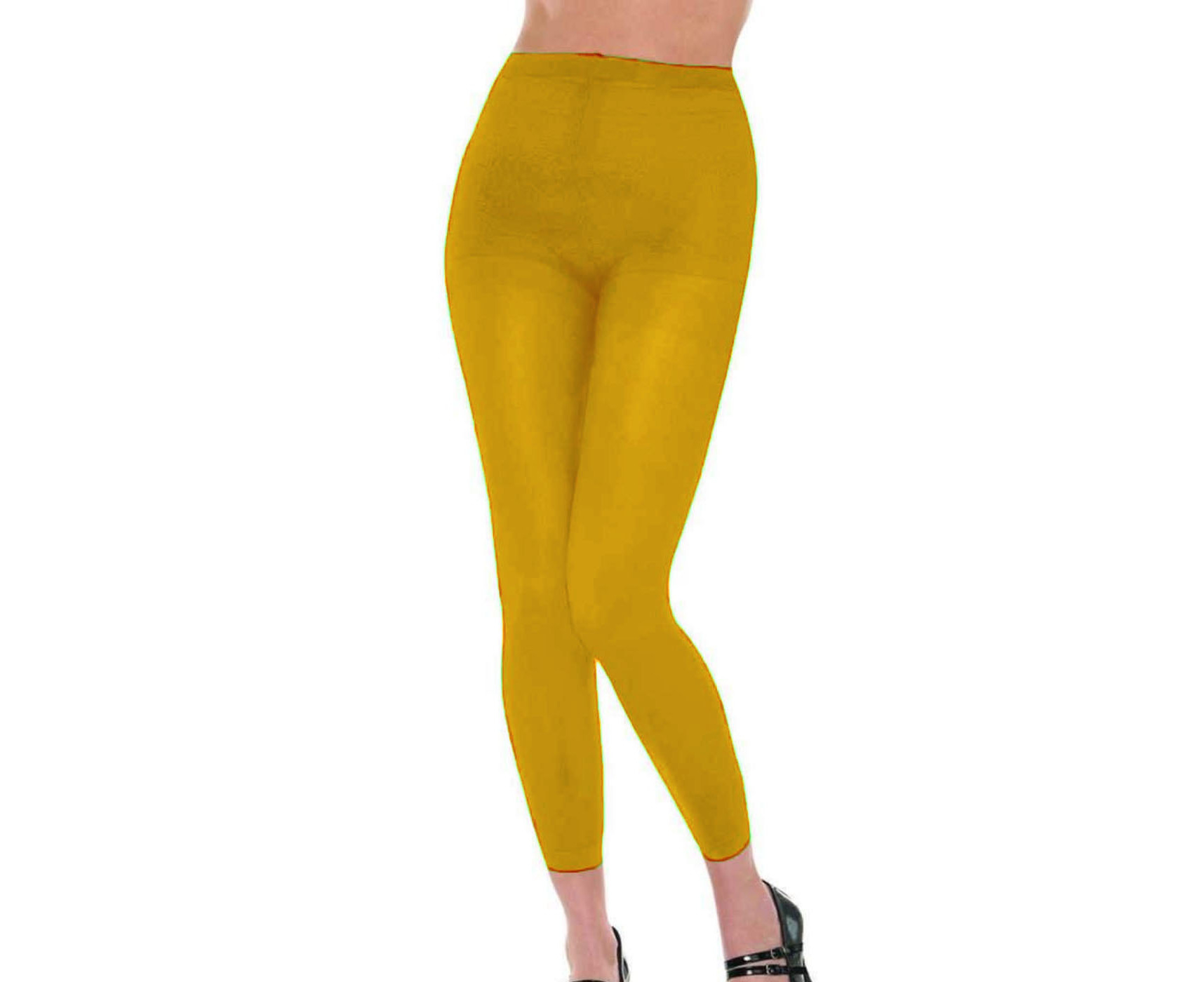 Women's Footless Tights Colourful Dance